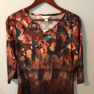 Small Christopher and Banks Blouse NWT